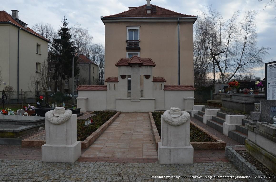 Cmentarz wojenny z I wojny nr 390 - Kraków / Mogiła (cm. paraf.)