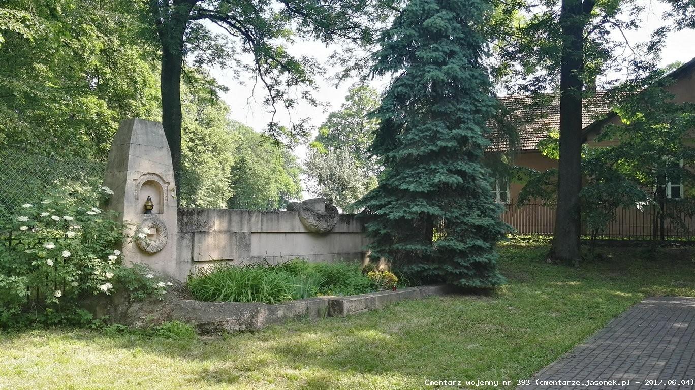Cmentarz wojenny z I wojny nr 393 - Górka Kościelnicka (koło kościoła)