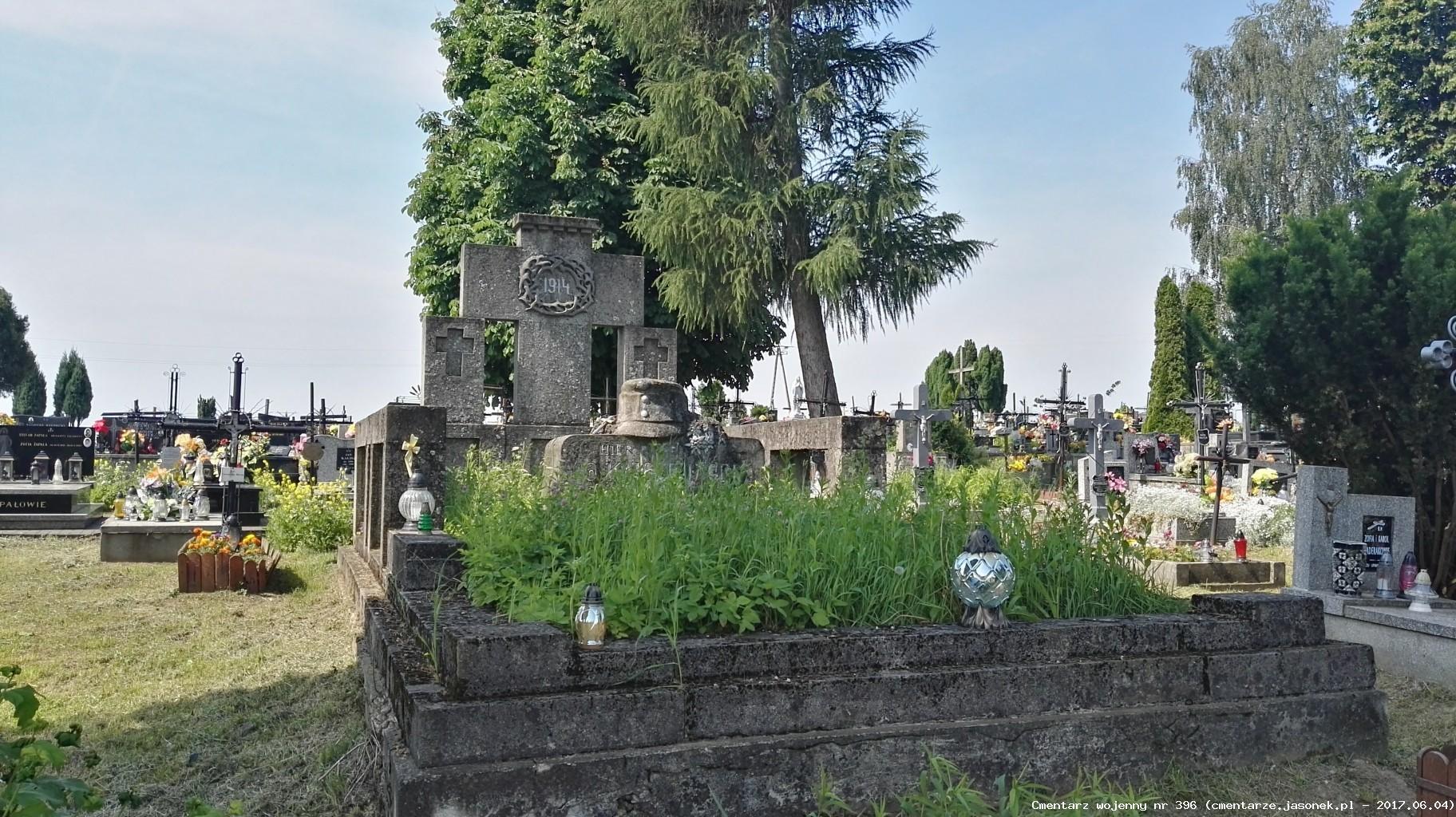 Cmentarz wojenny z I wojny nr 396 - Czulice (cm. parafialny)