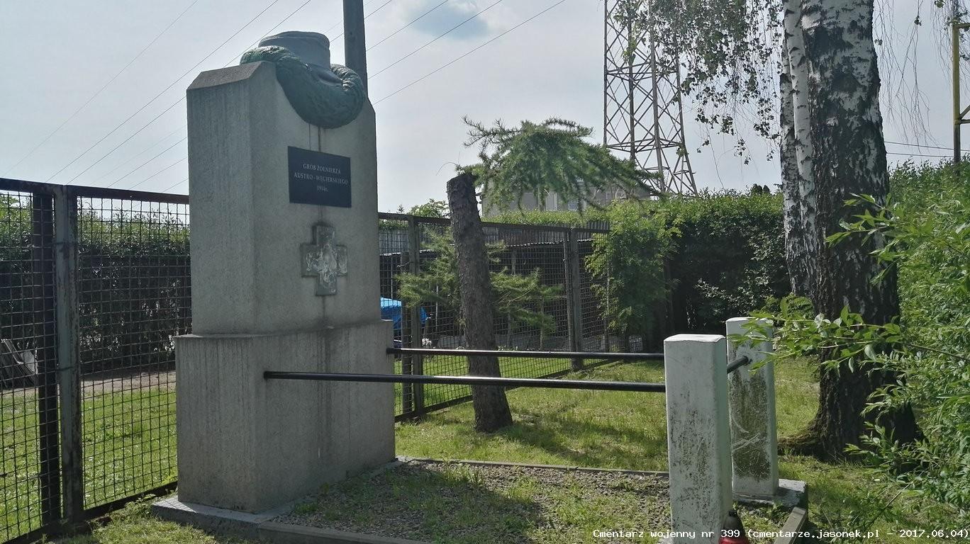 Cmentarz wojenny z I wojny nr 399 - Prusy