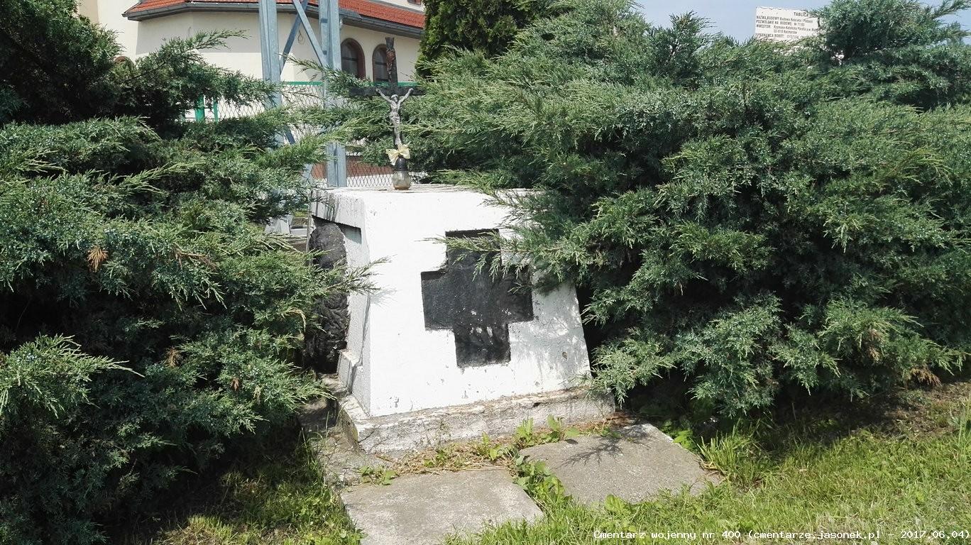 Cmentarz wojenny z I wojny nr 400 - Prusy