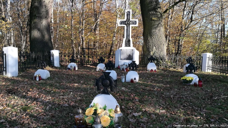 Cmentarz wojenny z I wojny nr 376 - Suchoraba