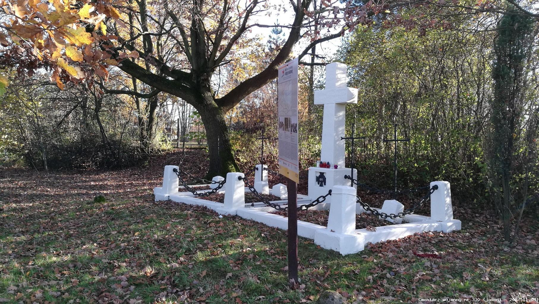 Cmentarz wojenny z I wojny nr 330 - Podłęże