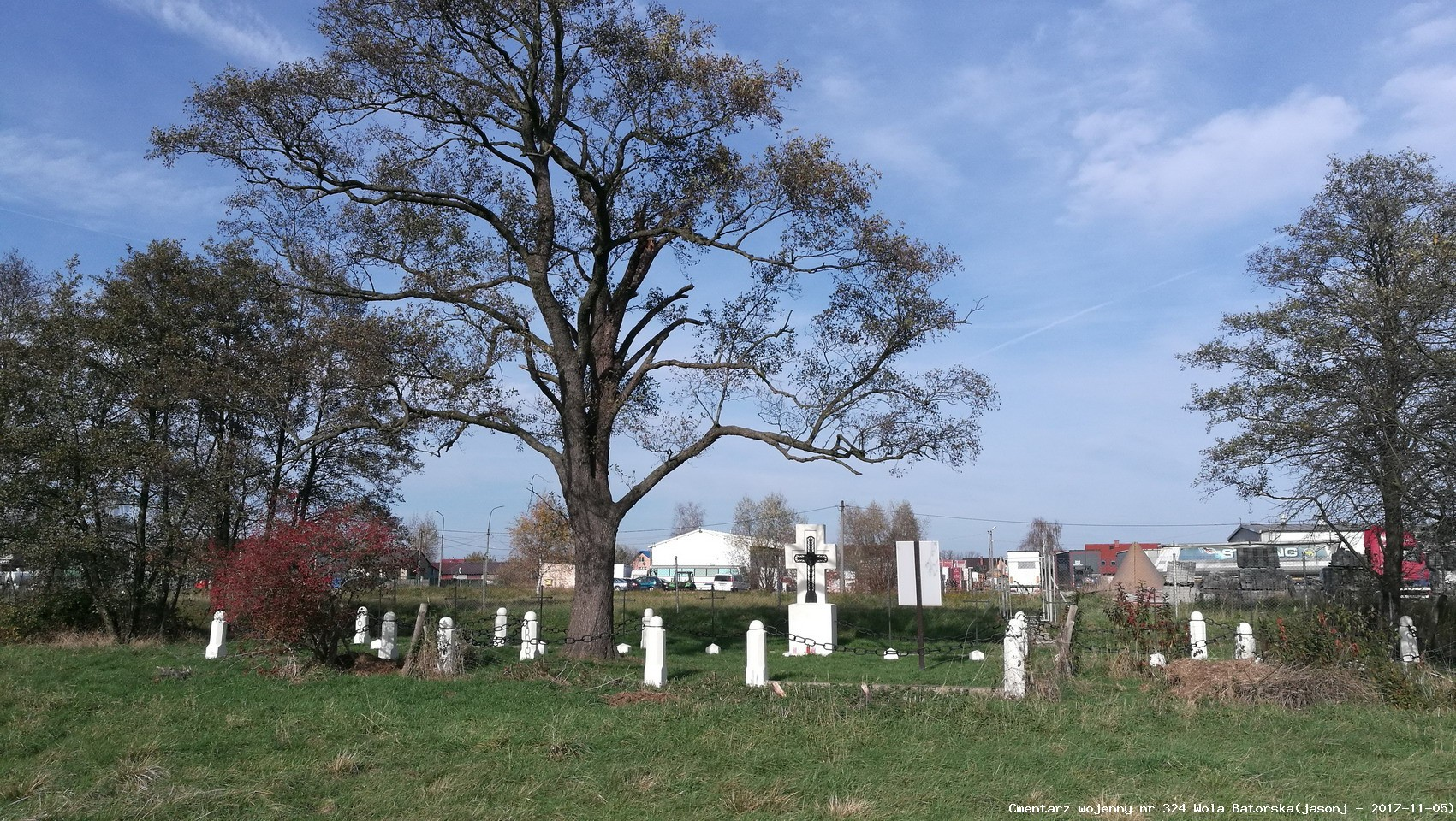 Cmentarz wojenny z I wojny nr 324 - Wola Batorska