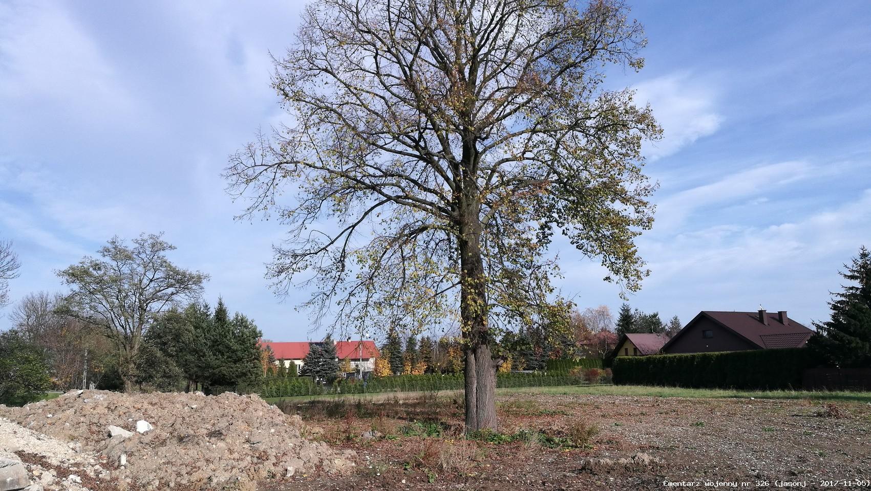 Cmentarz wojenny z I wojny nr 326 - Niepołomice