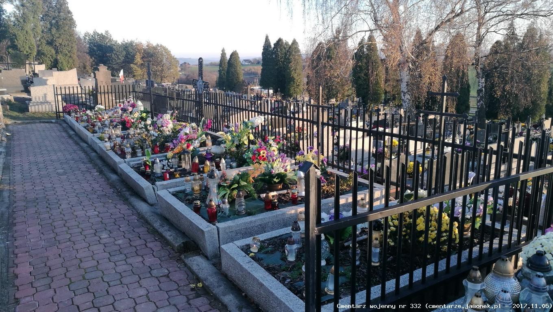 Cmentarz wojenny z I wojny nr 332 - Brzezie (cm. parafialny)