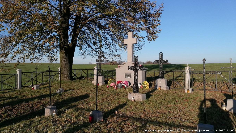 Cmentarz wojenny z I wojny nr 333 - Cichawa