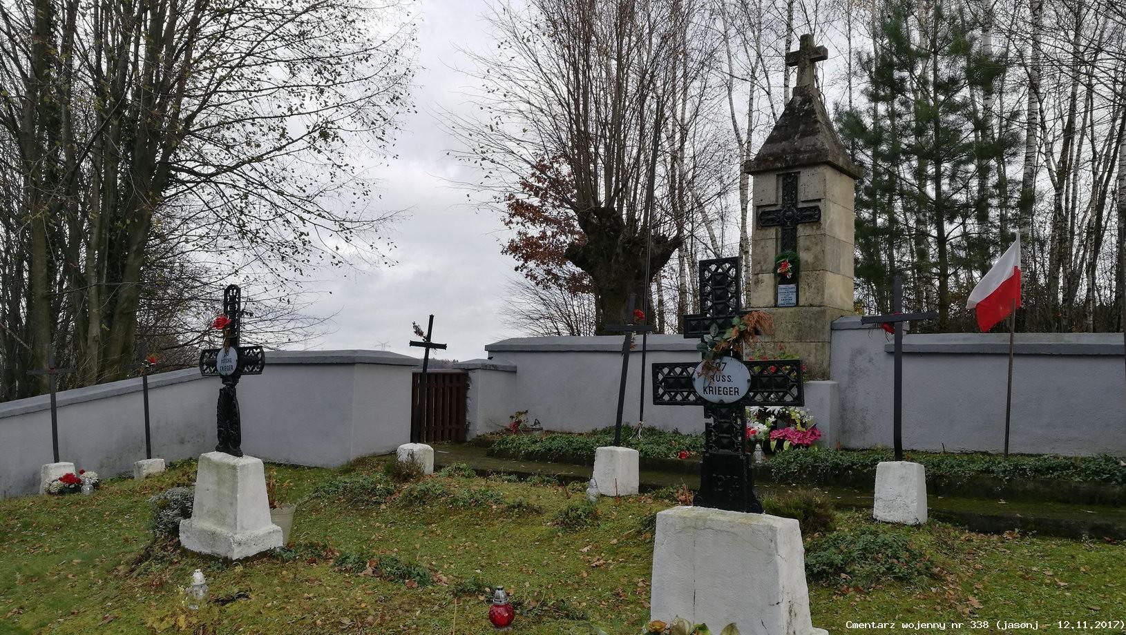 Cmentarz wojenny z I wojny nr 338 - Nieprześnia