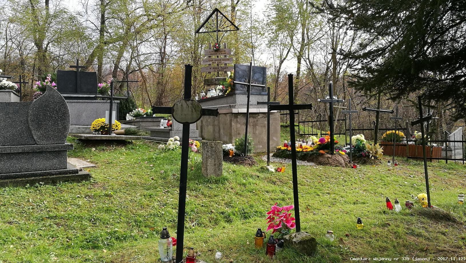 Cmentarz wojenny z I wojny nr 339 - Sobolów (cm. parafialny)