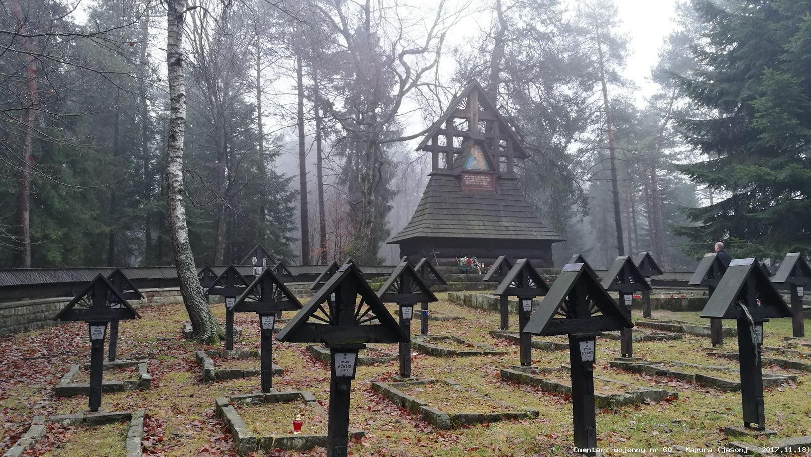 Cmentarz wojenny 60 - Przełęcz Małastowska