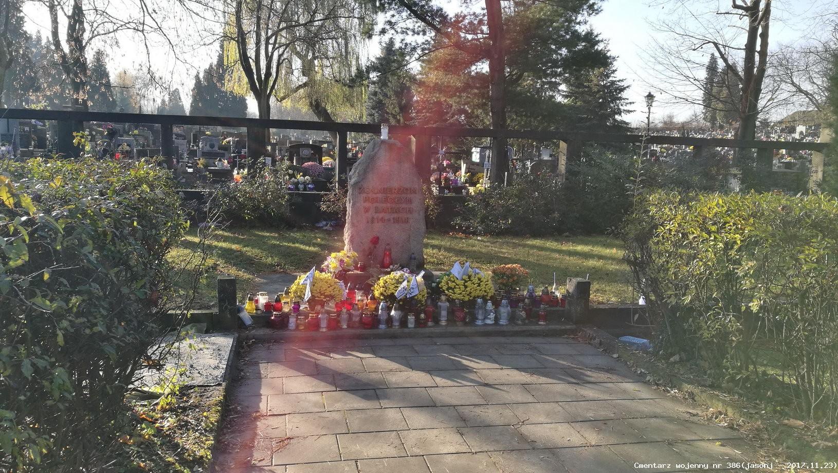 Cmentarz wojenny z I wojny nr 386 - Kraków / Podgórze (cm. komunalny)