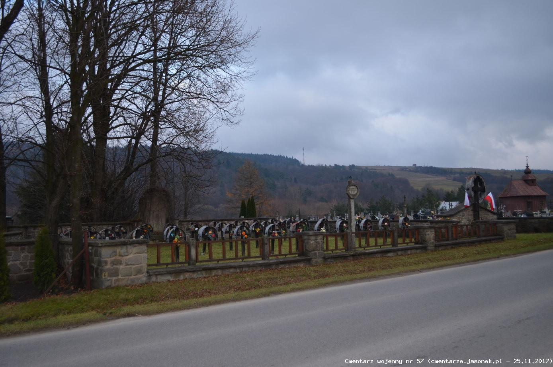 Cmentarz wojenny 57 - Uście Gorlickie (cm. parafialny)