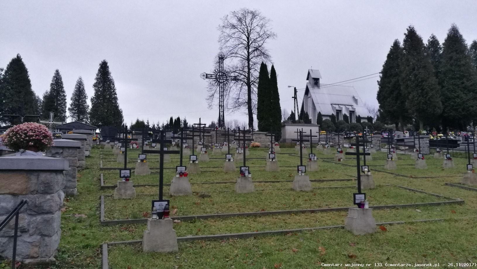 Cmentarz wojenny 133 - Bobowa (cm. parafialny)