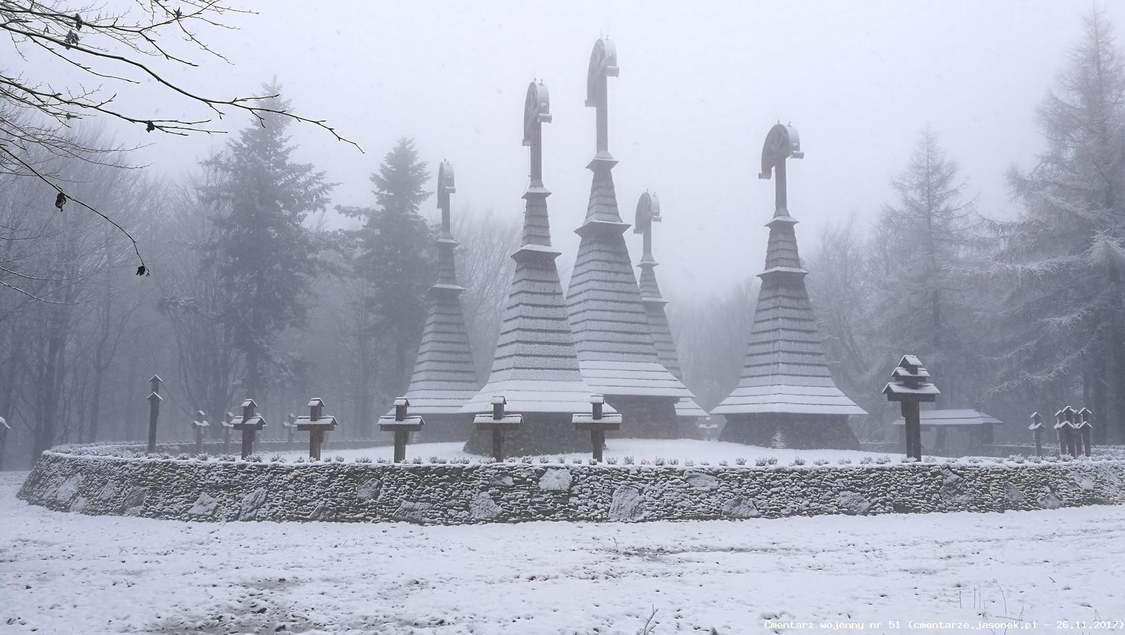 Cmentarz wojenny 51 - Regetów Niżny - Rotunda