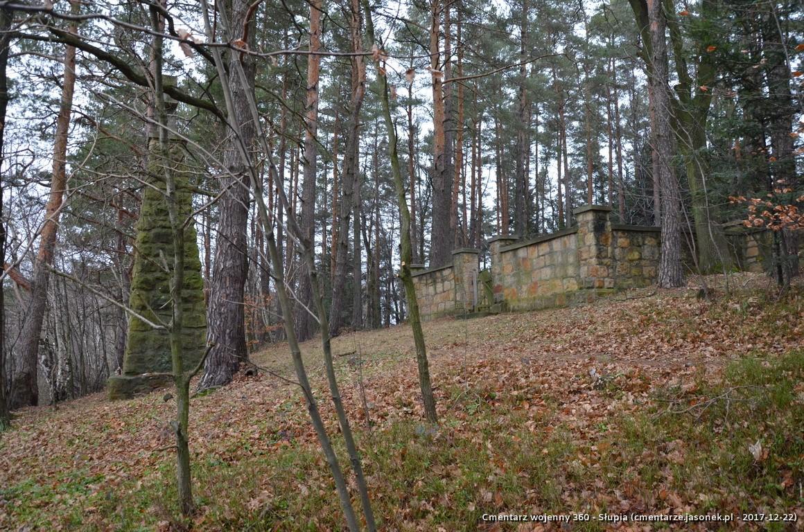 Cmentarz wojenny 360 - Słupia