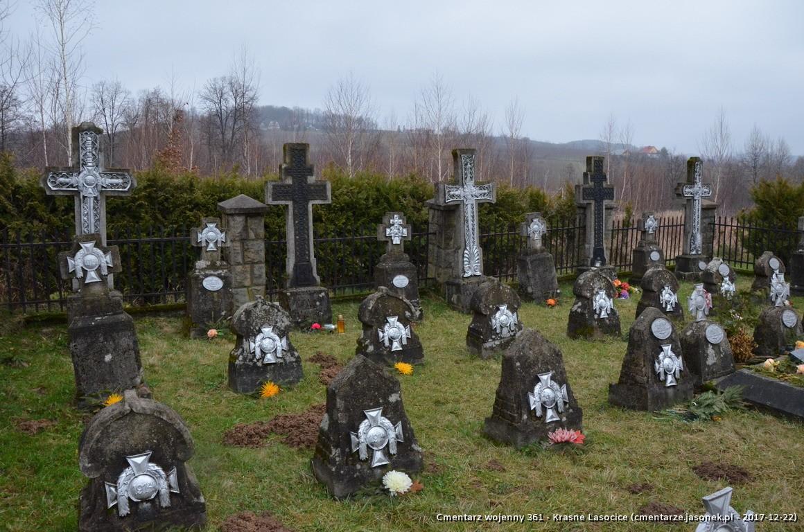 Cmentarz wojenny z I wojny nr 361 - Krasne Lasocice