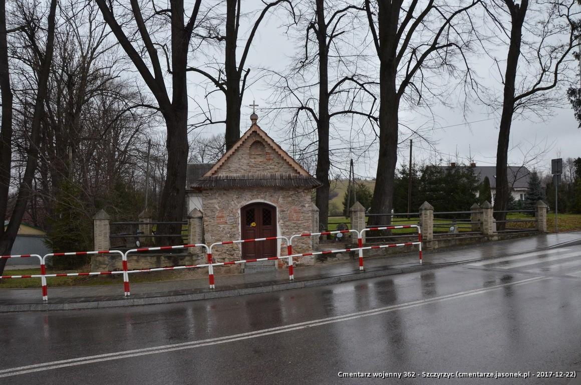 Cmentarz wojenny z I wojny nr 362 - Szczyrzyc