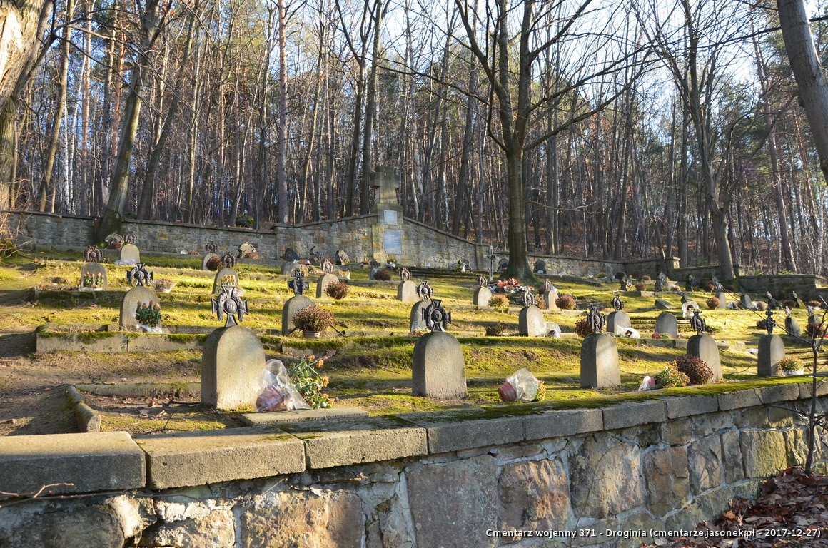 Cmentarz wojenny 371 - Droginia