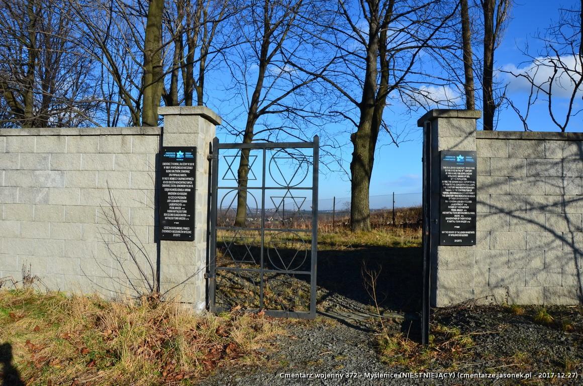 Cmentarz wojenny 372 - Myślenice (NIESTNIEJĄCY)