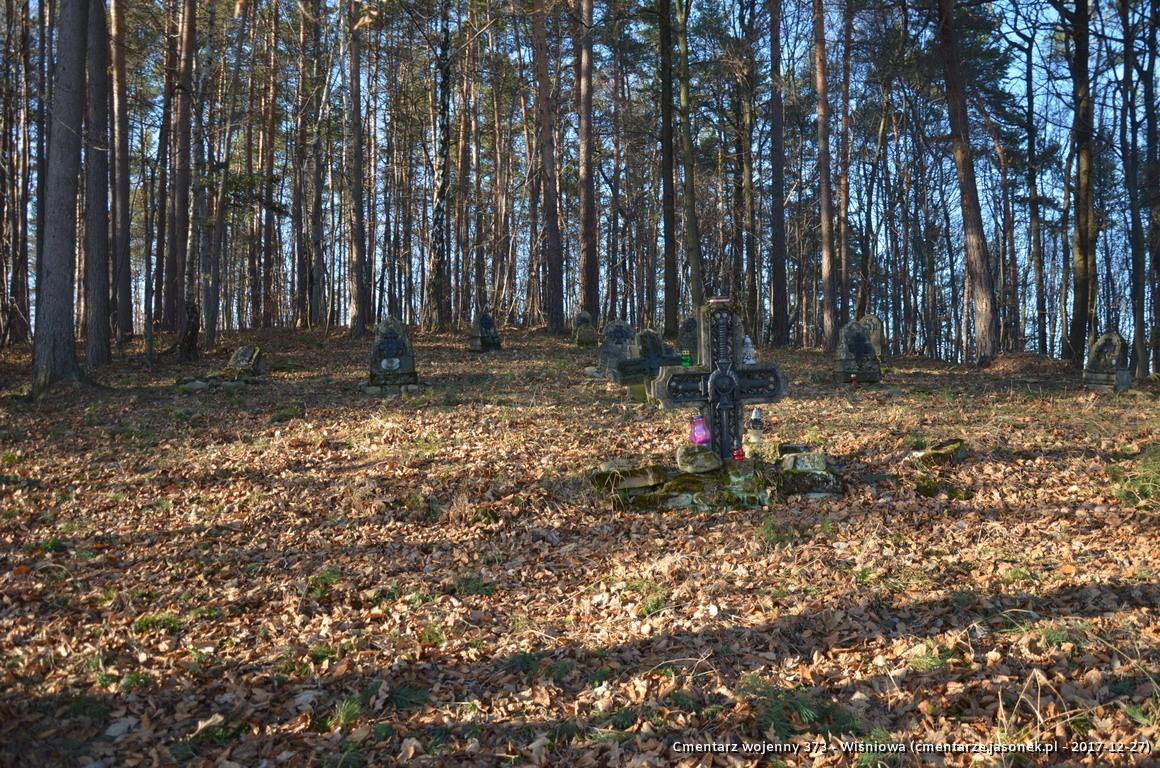 Cmentarz wojenny 373 - Wiśniowa
