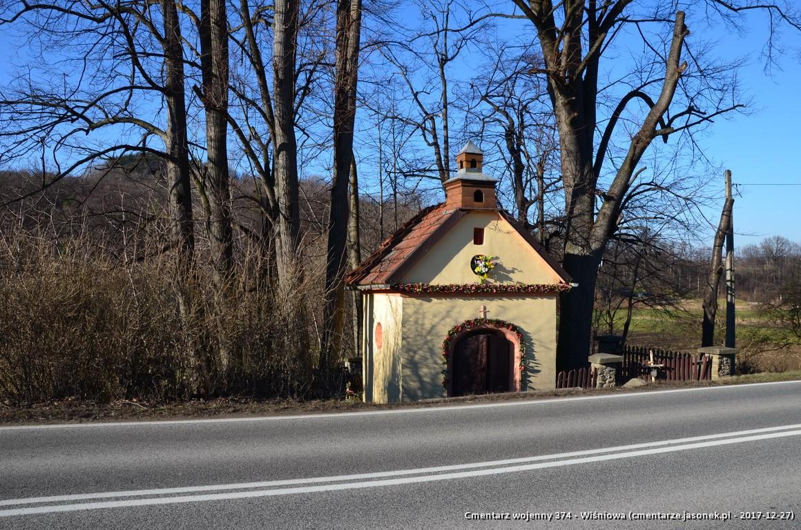 Cmentarz wojenny z I wojny nr 374 - Wiśniowa