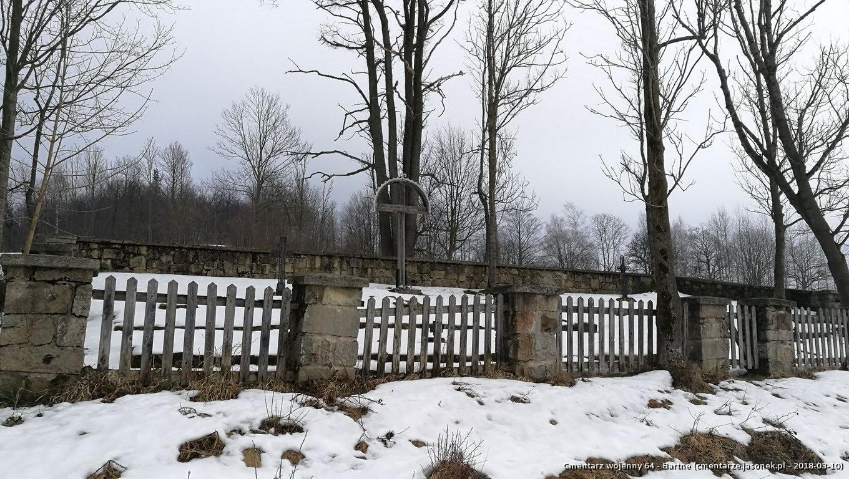 Cmentarz wojenny 64 - Bartne