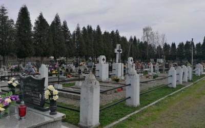 Cmentarz wojenny 322 - Grobla (cm. parafialny)