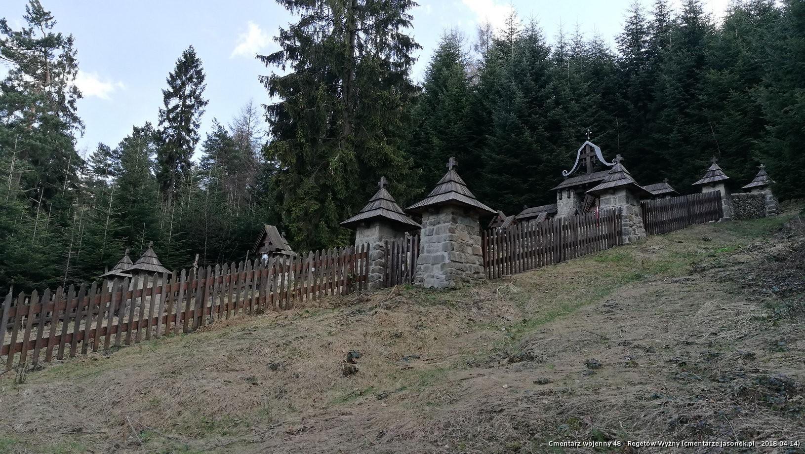 Cmentarz wojenny 48 - Regetów Wyżny
