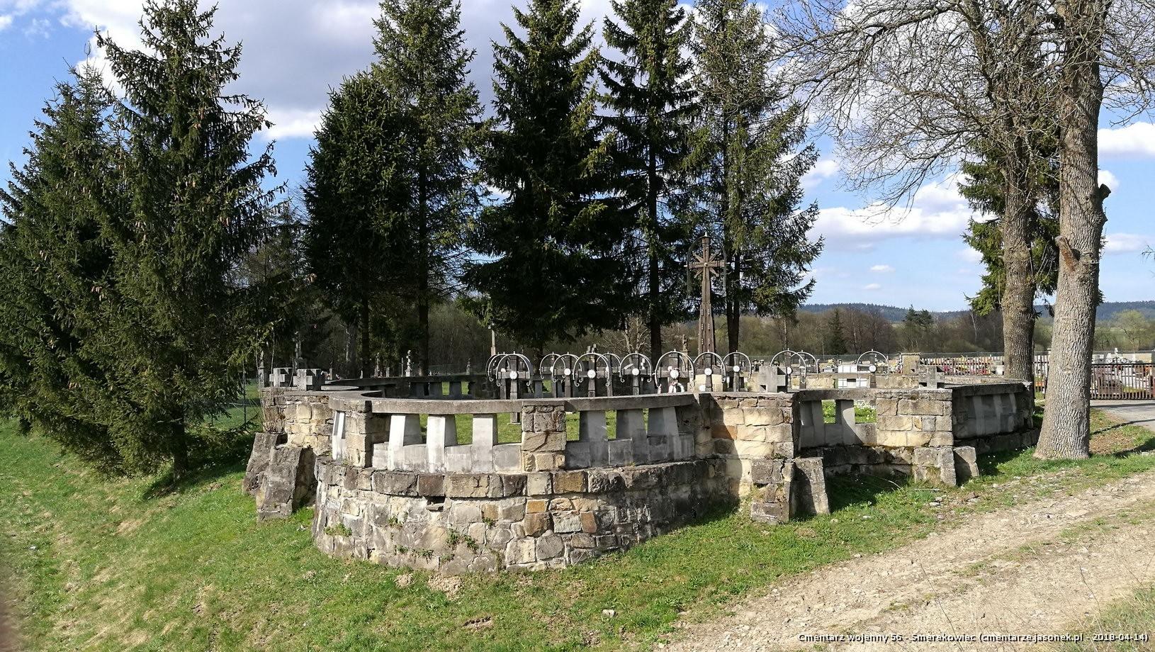 Cmentarz wojenny 56 - Smerekowiec