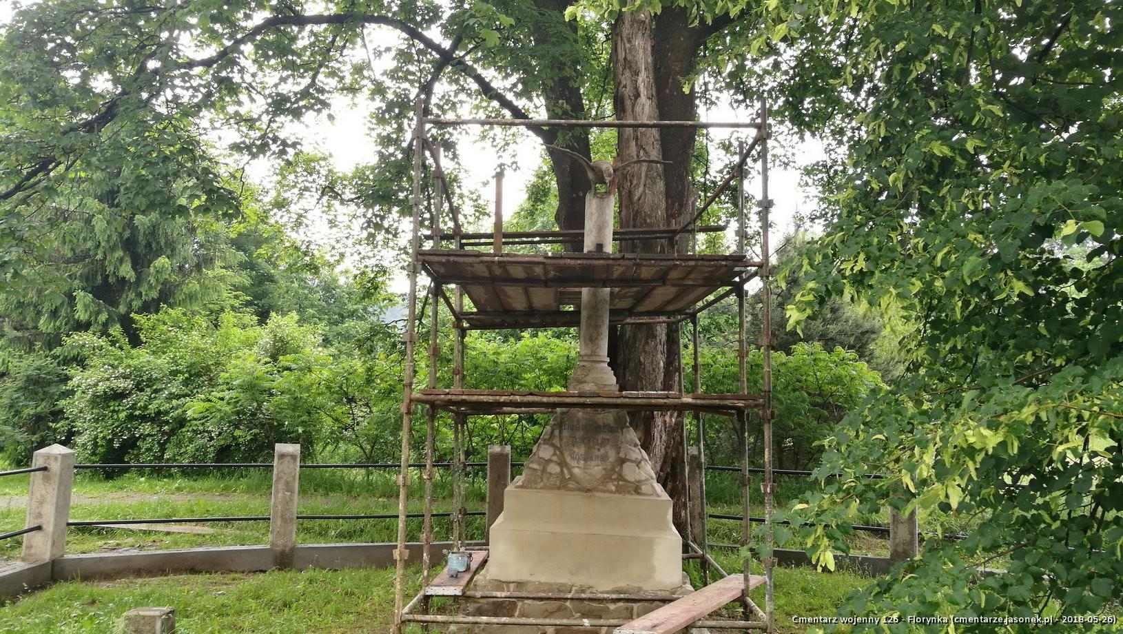 Cmentarz wojenny 126 - Florynka
