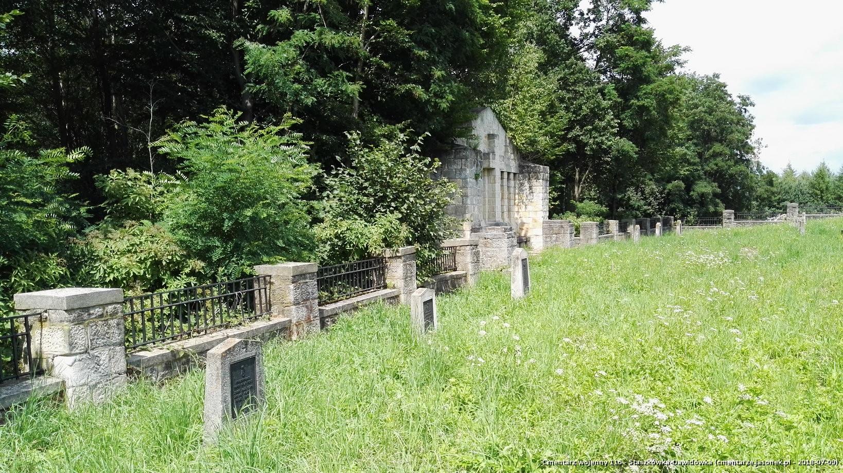 Cmentarz wojenny 116 - Staszkówka-Dawidówka
