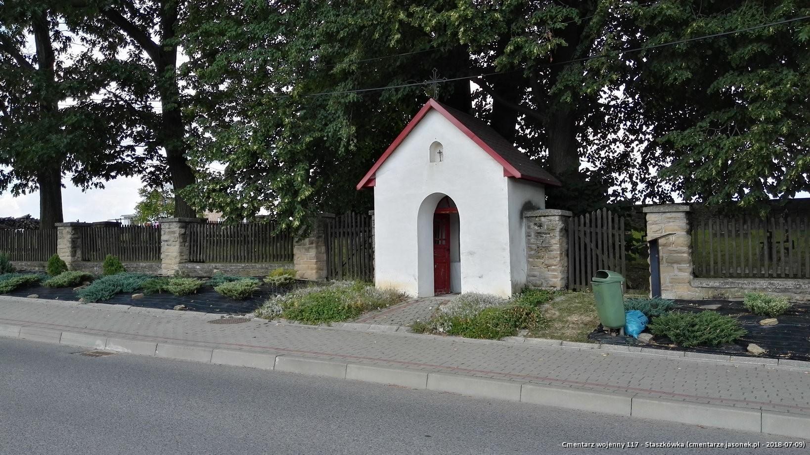 Cmentarz wojenny 117 - Staszkówka