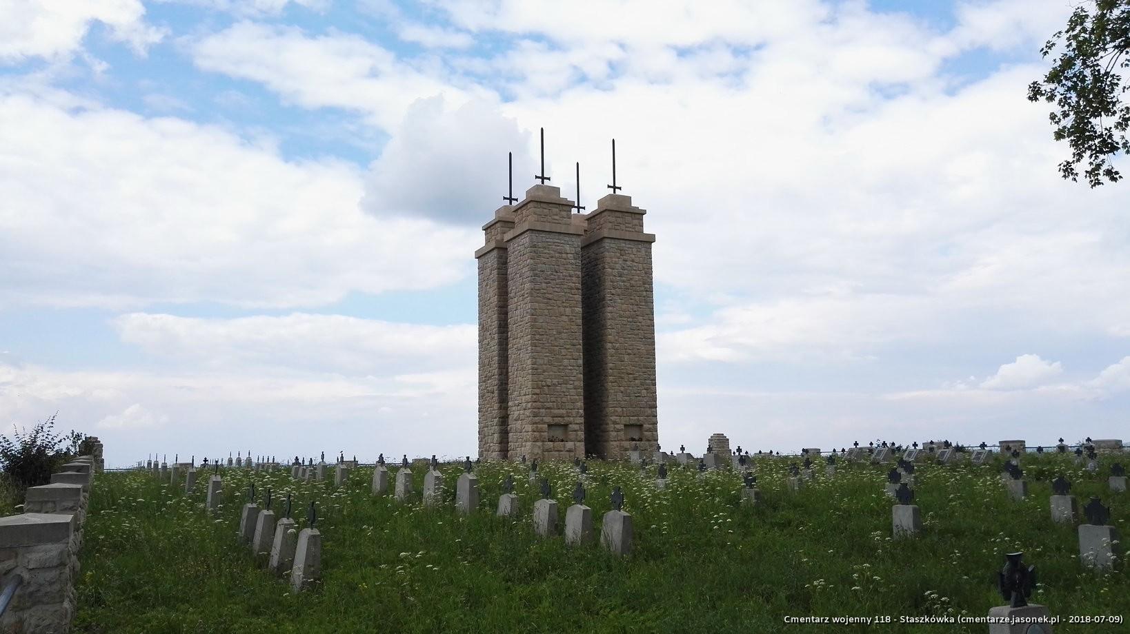 Cmentarz wojenny 118 - Staszkówka