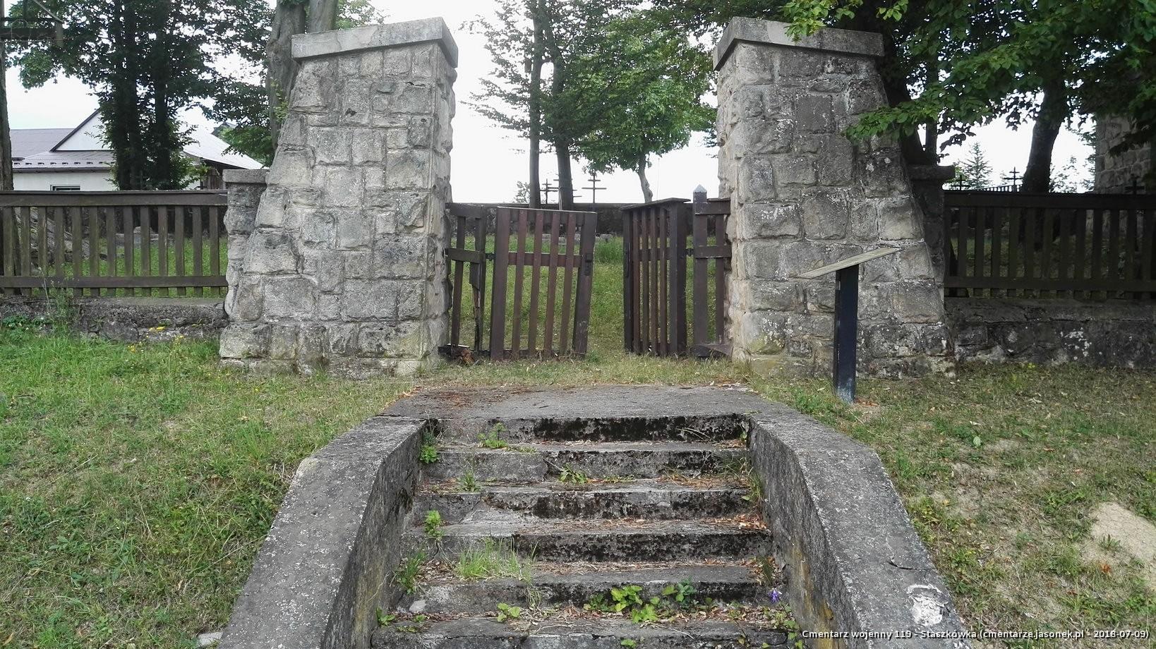 Cmentarz wojenny 119 - Staszkówka