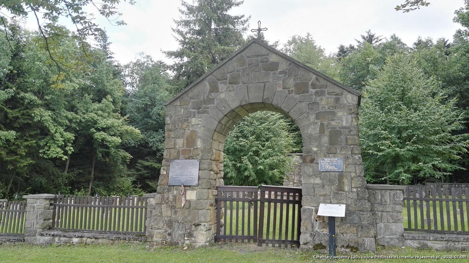 Cmentarz wojenny 120 - Łużna-Podbrzezie