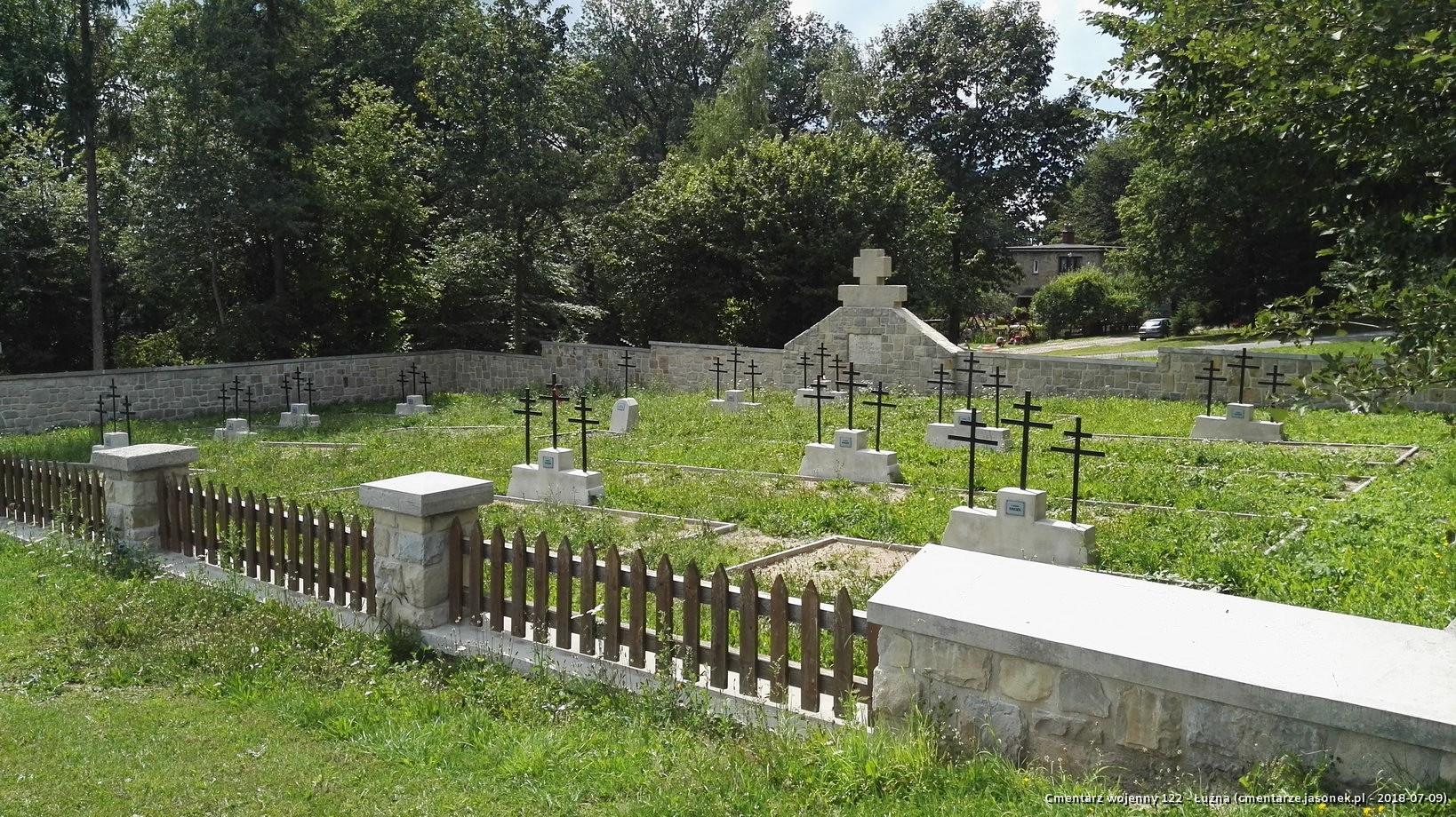 Cmentarz wojenny 122 - Łużna