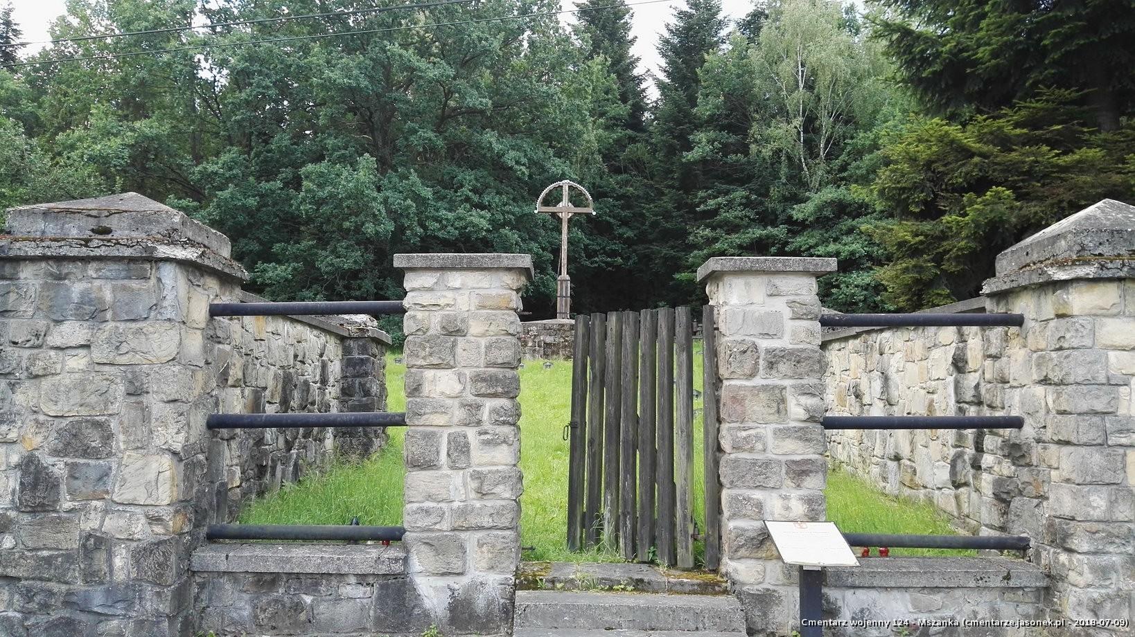 Cmentarz wojenny 124 - Mszanka