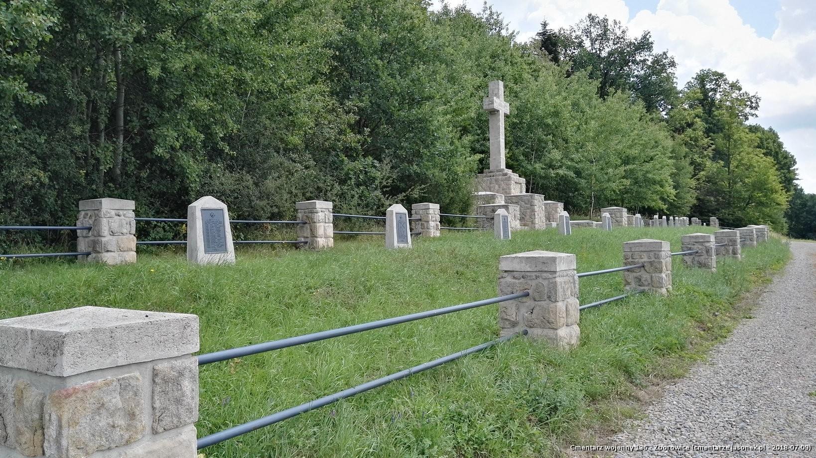 Cmentarz wojenny 136 - Zborowice