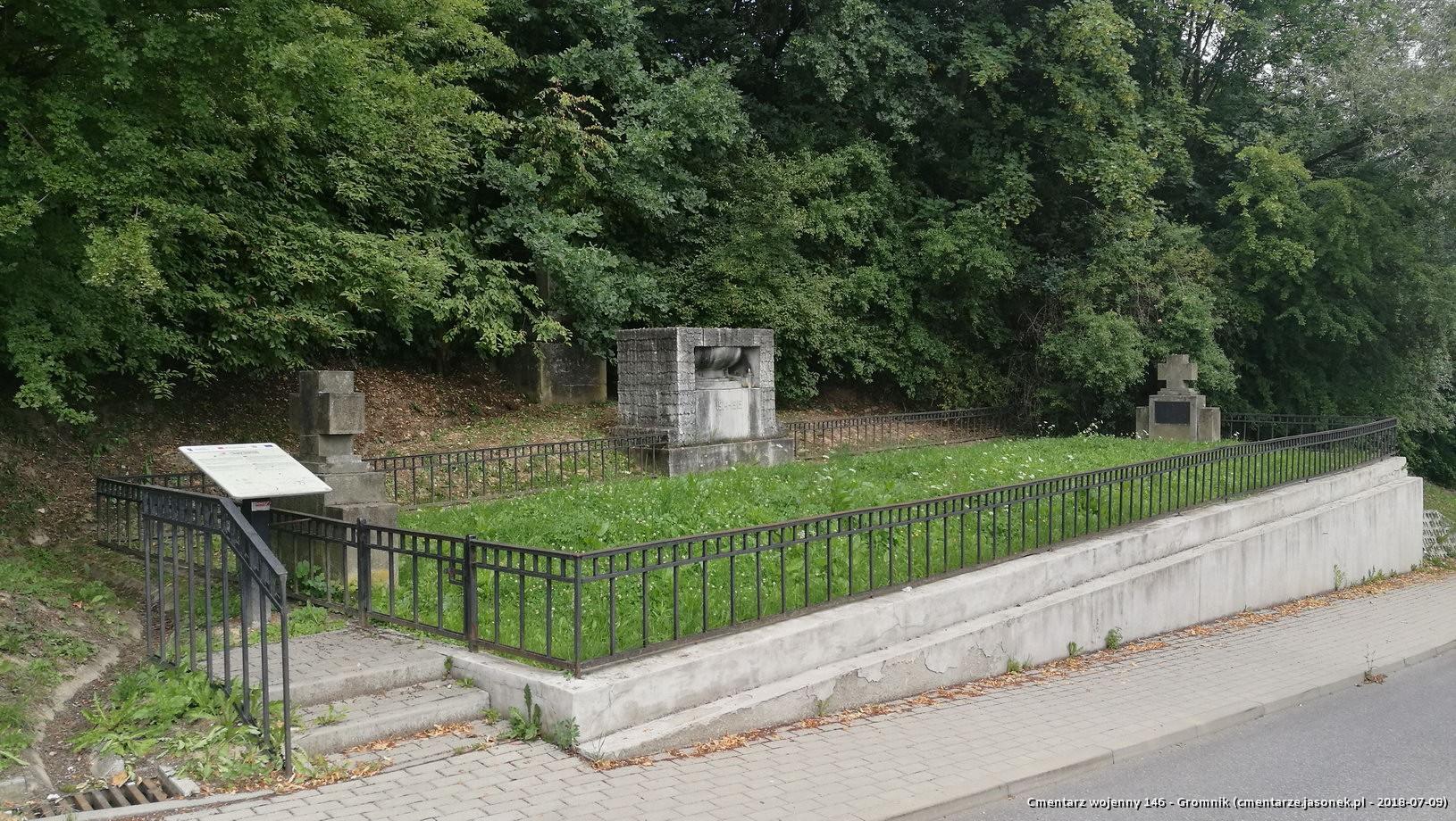 Cmentarz wojenny 146 - Gromnik