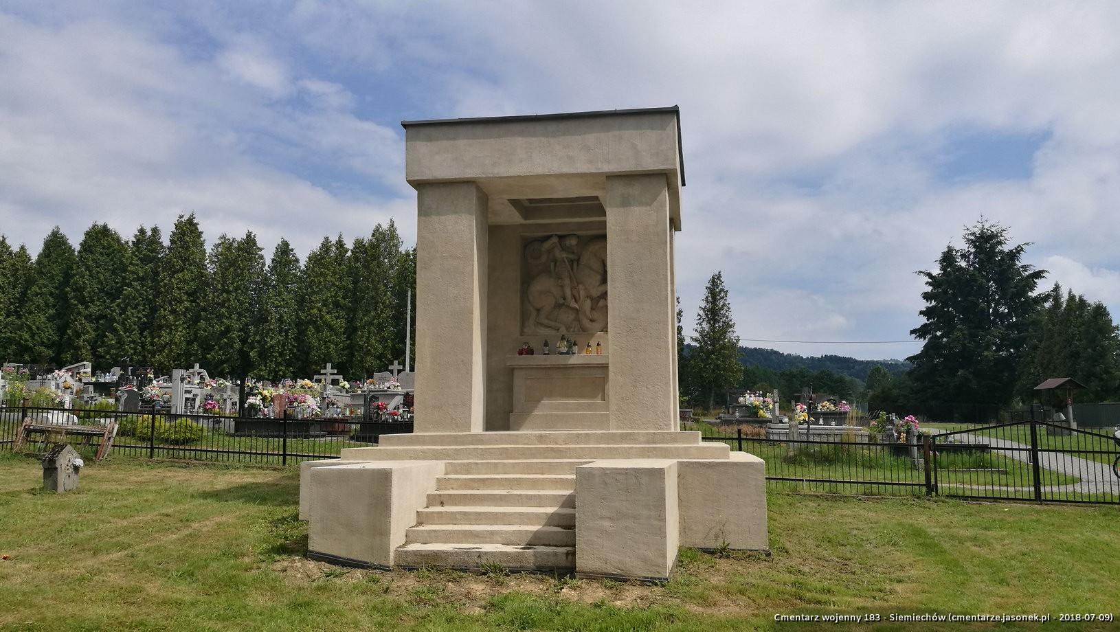 Cmentarz wojenny 183 - Siemiechów