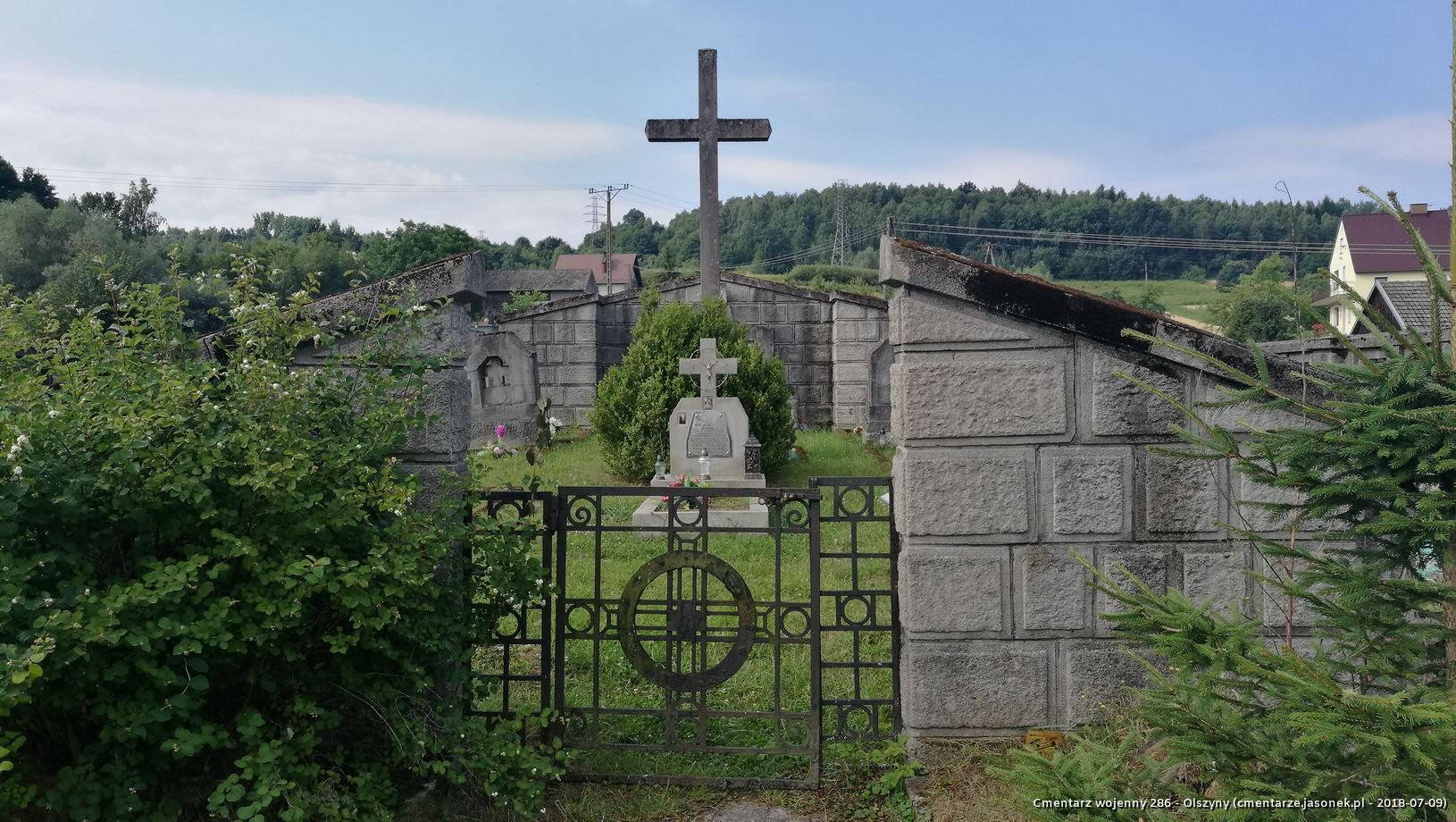 Cmentarz wojenny 286 - Olszyny