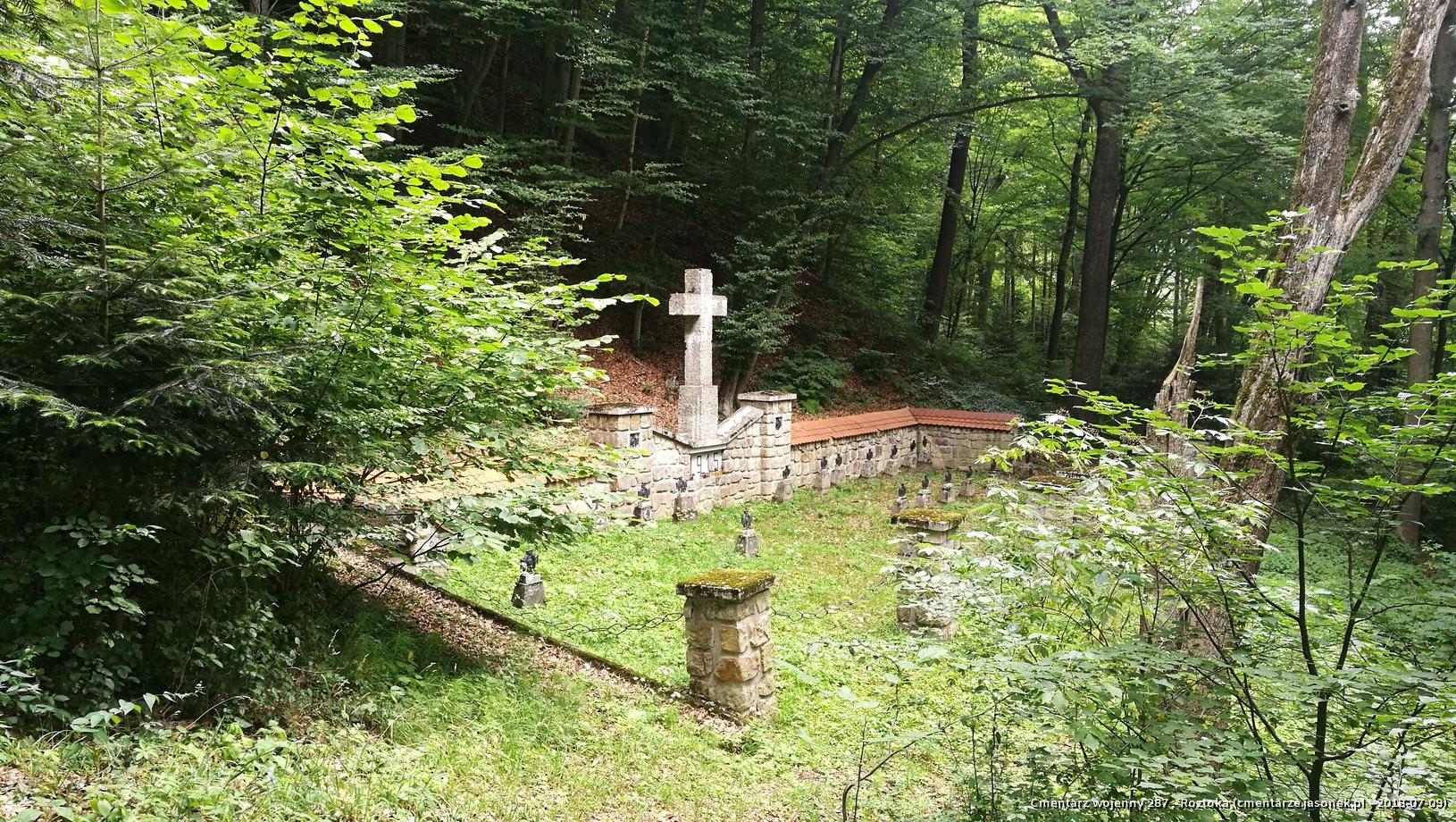 Cmentarz wojenny 287 - Roztoka