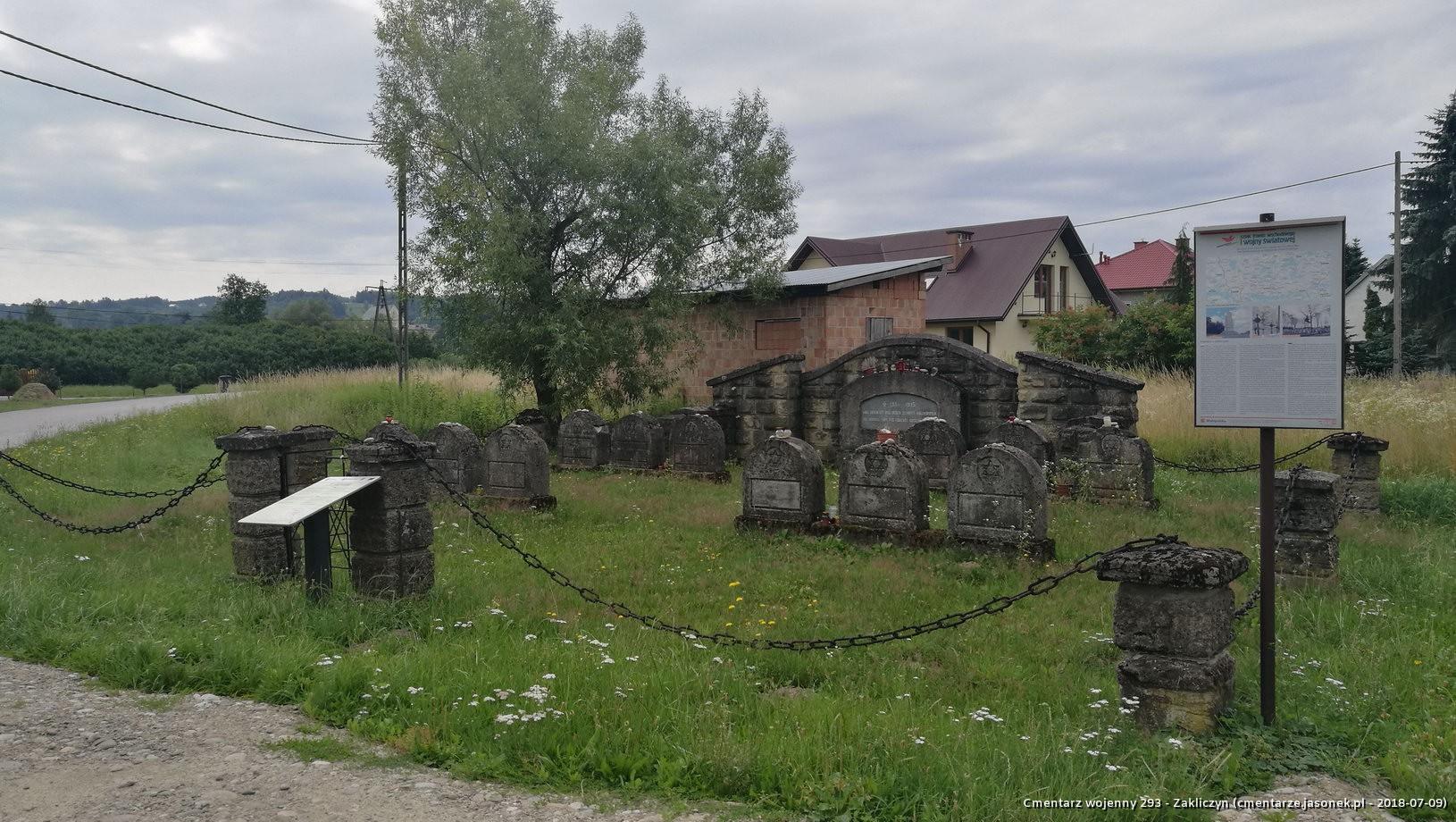 Cmentarz wojenny 293 - Zakliczyn