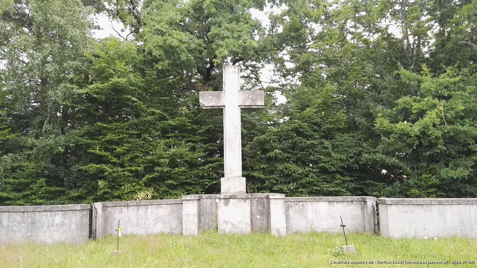 Cmentarz wojenny 88 - Gorlice-Sokół