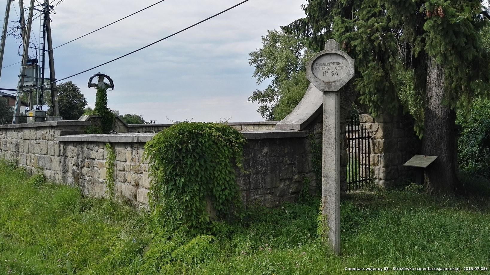 Cmentarz wojenny 93 - Stróżówka