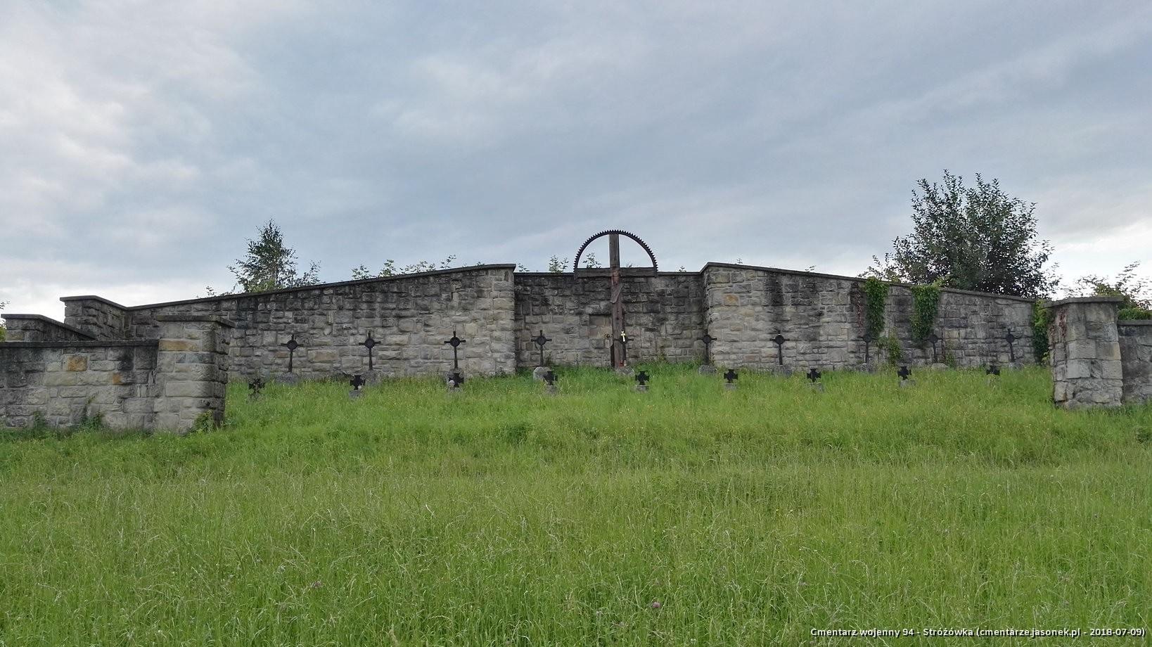 Cmentarz wojenny 94 - Stróżówka