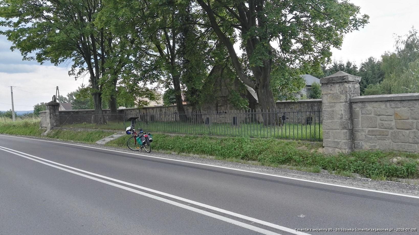 Cmentarz wojenny 95 - Stróżówka