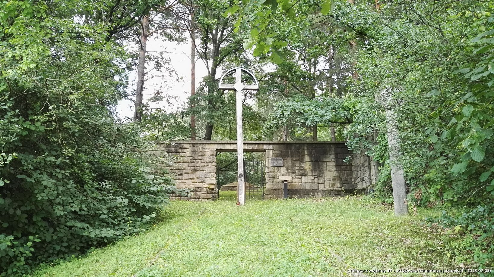 Cmentarz wojenny 97 - Stróżówka