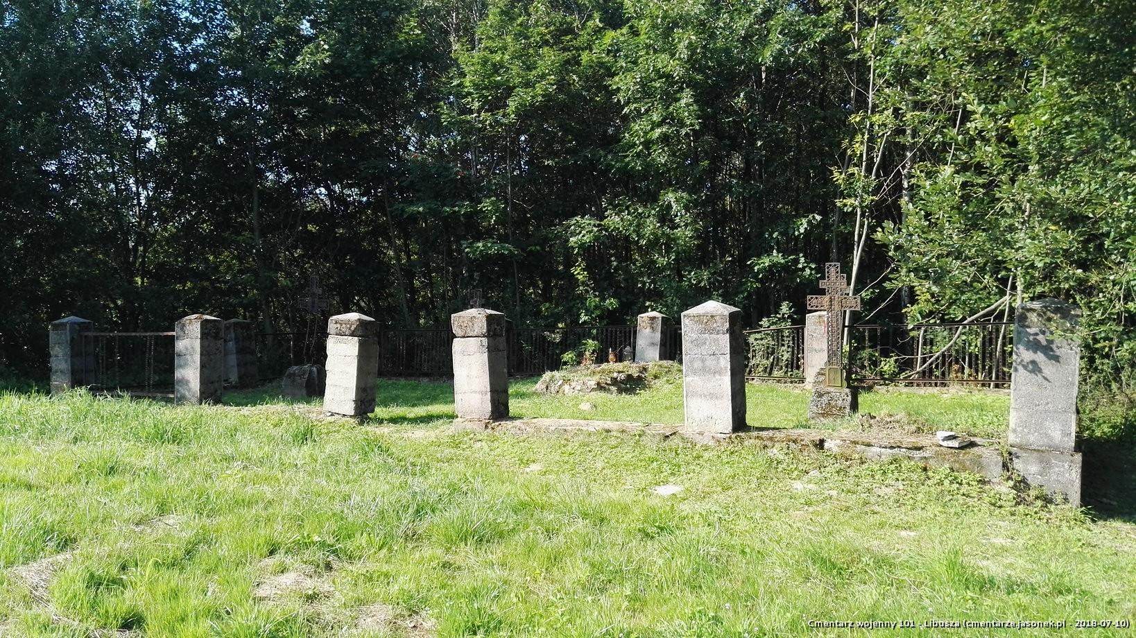 Cmentarz wojenny 101 - Libusza