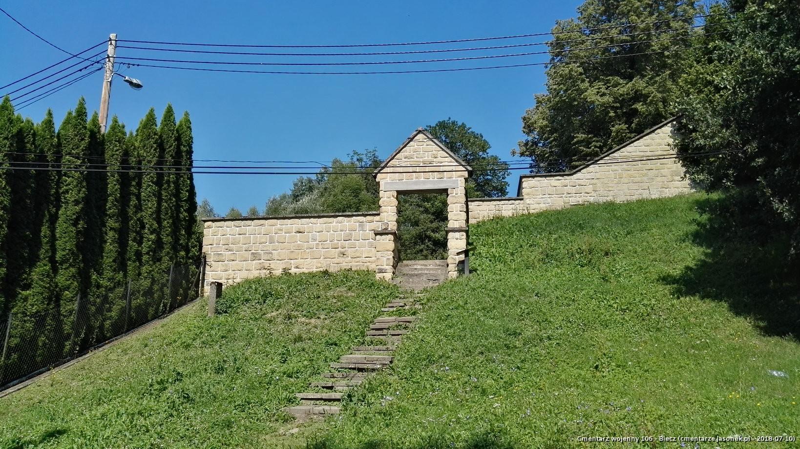 Cmentarz wojenny 106 - Biecz